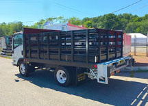 Iroquois Rack Body with Galvanized Tukaway Lift Gate